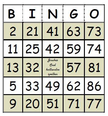 Top Bingo IY07