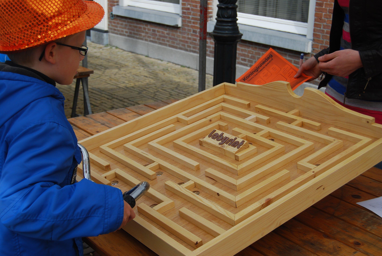 Labyrint | Joukes oud Hollandse spellen